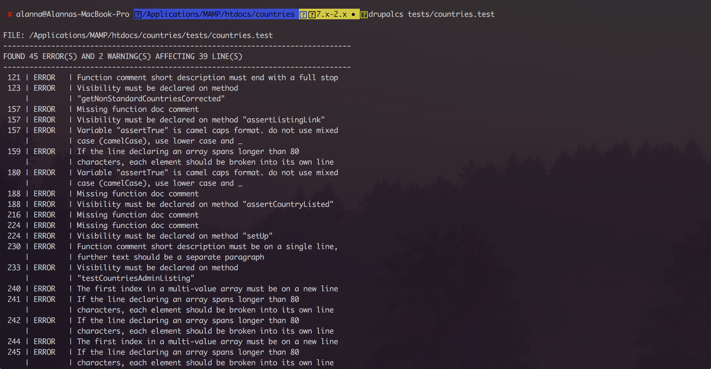 codesniffer sublime text 3
