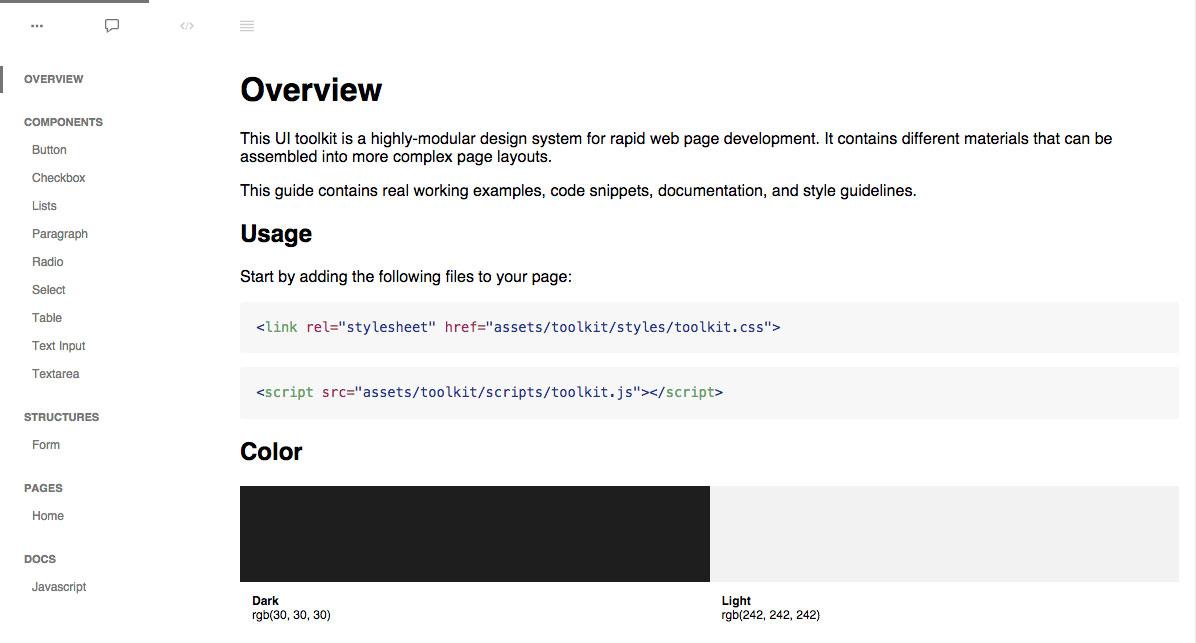 Fabricator default page
